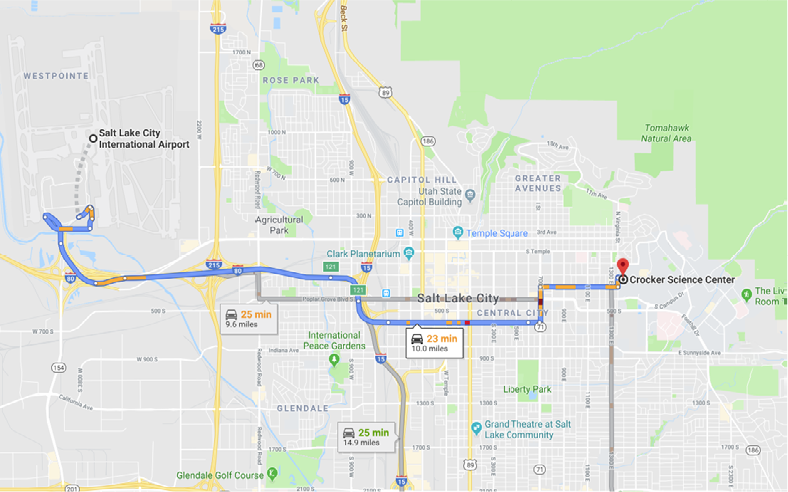 Map For Salt Lake City